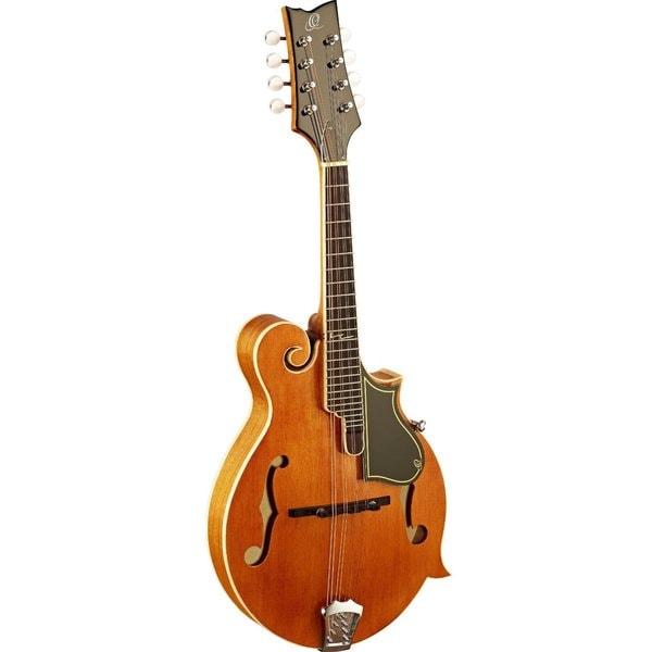 Ortega Guitars RMF50VY F-Style Series Vintage Yellow Maple Mandolin