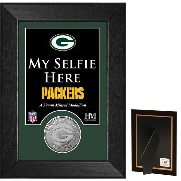 Green Bay Packers 'Selfie' Minted Coin Mini Mint