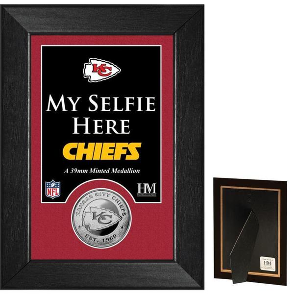 Kansas City Chiefs 'Selfie' Minted Coin Mini Mint