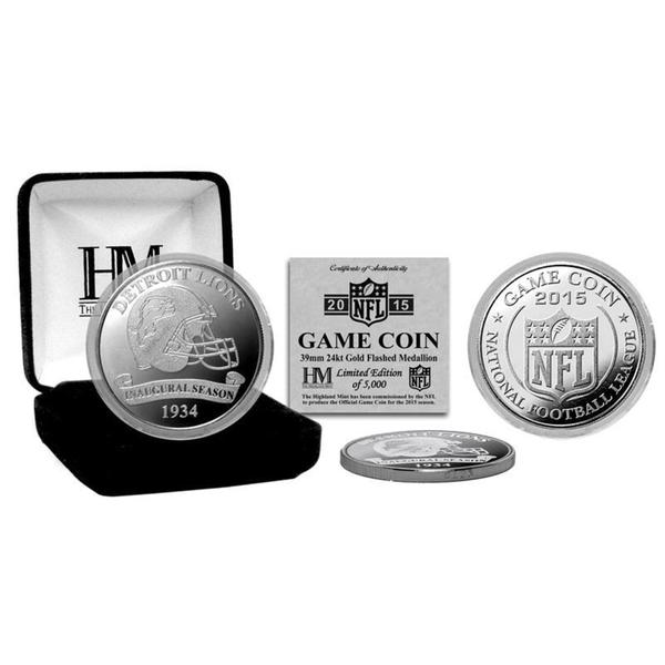 Detroit Lions 2015 Game Coin