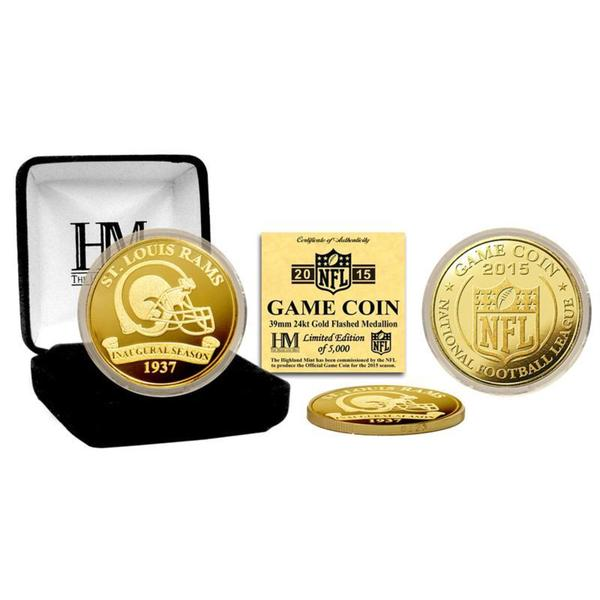 St Louis Rams 2015 Game Coin