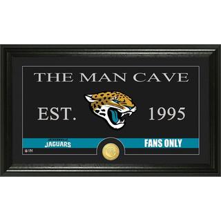 Jacksonville Jaguars 'Man Cave' Bronze Coin Panoramic Photo Mint