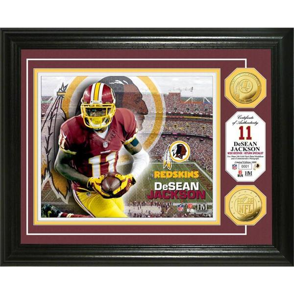 DeSean Jackson Gold Coin Photo Mint