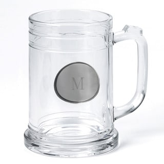 Personalized 16-ounce Mug with Pewter Medallion