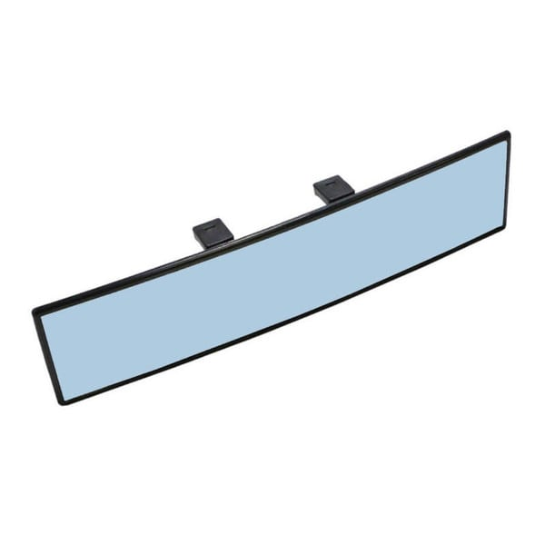 Universal 300mm Blue Tint Curve Rear View Mirror