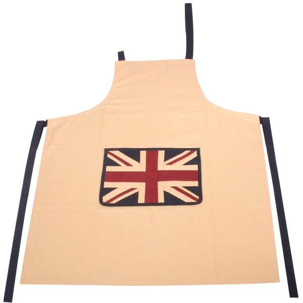 Vintage Glory Union Jack Cotton Apron