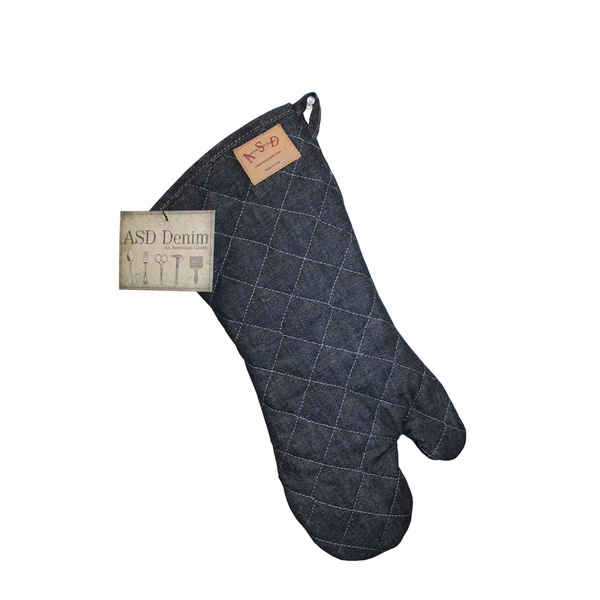 Vintage Draper Denim BBQ Mitt (Set of 2)