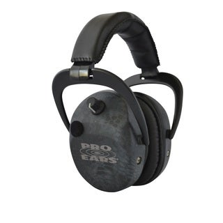 Pro Ears NRR 25 Stalker Gold Typhon Electronic Hearing Protection and Amplification Earmuffs