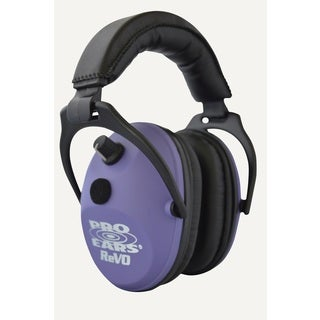 Pro Ears Purple Electronic ReVO Hearing Protection and Amplfication muffs