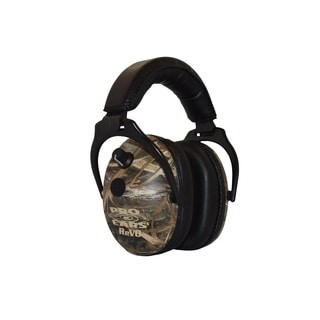 Pro Ears NRR 25 ReVO Electronic Hearing Protection and Amplification Max 5 Camo Youth and Women Ear Muffs