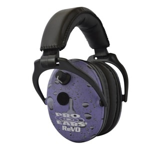 Pro Ears NRR 25 ReVO Electronic Hearing Protection and Amplification Purple Youth and Women Ear Muffs