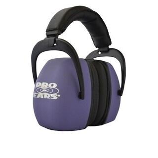 Pro Ears NRR 30 Ultra Pro Hearing Protection Purple Ear Muffs