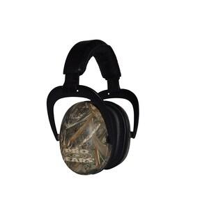 Pro Ears NRR 26 Ultra Sleek Max 5 Camo Hearing Protection Ear Muffs