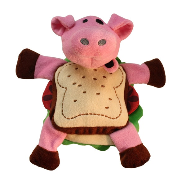 Multipet Silly Sandwiches Dog Toy