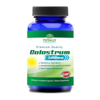 Totally Products 100-percent Natural Colostrum 500mg (100 Capsules)