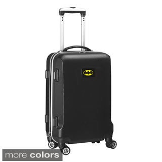Denco Sports DC Batman 20-inch Carry-on Spinner Upright Suitcase