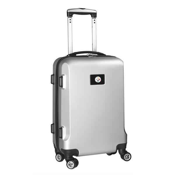 NFL Pittsburgh Steelers 20-inch Carry-on Spinner Upright Suitcase