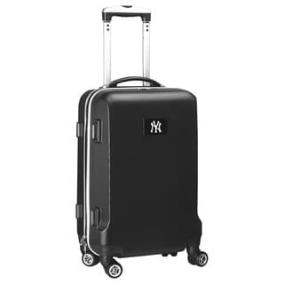 Denco Sports MLB New York Yankees 20-inch Hardside Carry-on Spinner Upright Suitcase
