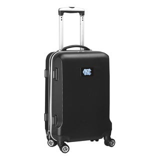 Denco Sports NCAA North Carolina Tar Heels 20-inch Hardside Carry-on Spinner Upright Suitcase