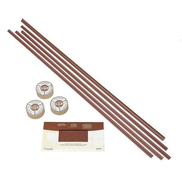 Fasade Backsplash Accessory Kit Large Profile with Tape Argent Copper 16116103