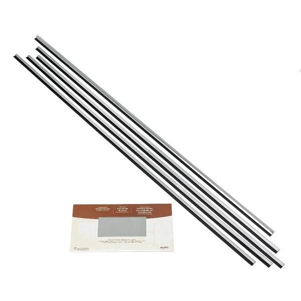 Fasade Backsplash Accessory Kit Large Profile Brushed Aluminum 16116121