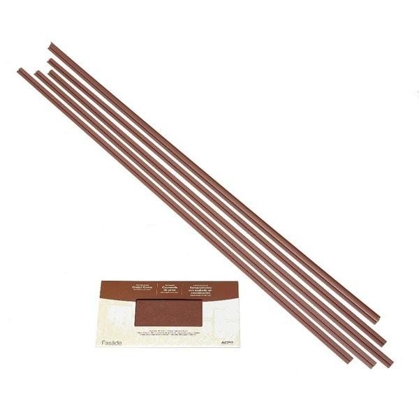 Fasade Backsplash Accessory Kit Large Profile Argent Copper 16116123
