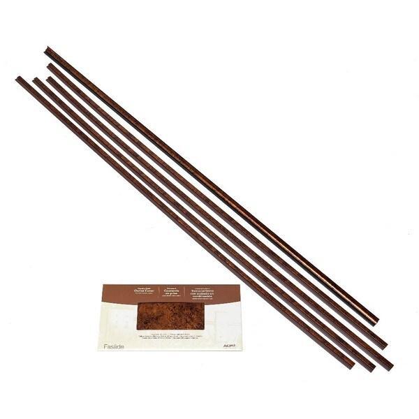 Fasade Backsplash Accessory Kit Large Profile Moonstone Copper 16116126