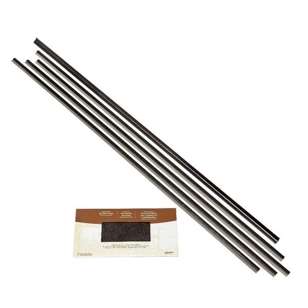 Fasade Backsplash Accessory Kit Large Profile Smoked Pewter 16116133