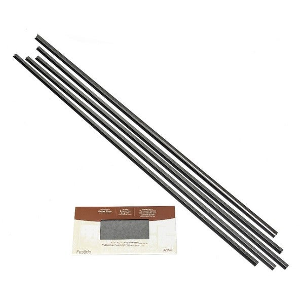 Fasade Backsplash Accessory Kit Large Profile Galvanized Steel 16116136