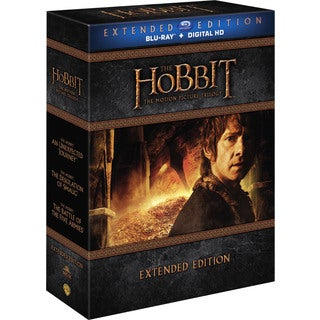 Hobbit: Motion Picture Trilogy Extended Editions (Blu-ray Disc)