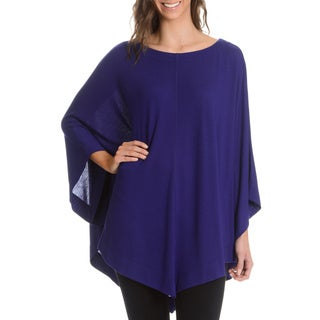 Chelsea and Theodore Women's Dolman Sleeve Oversized Top