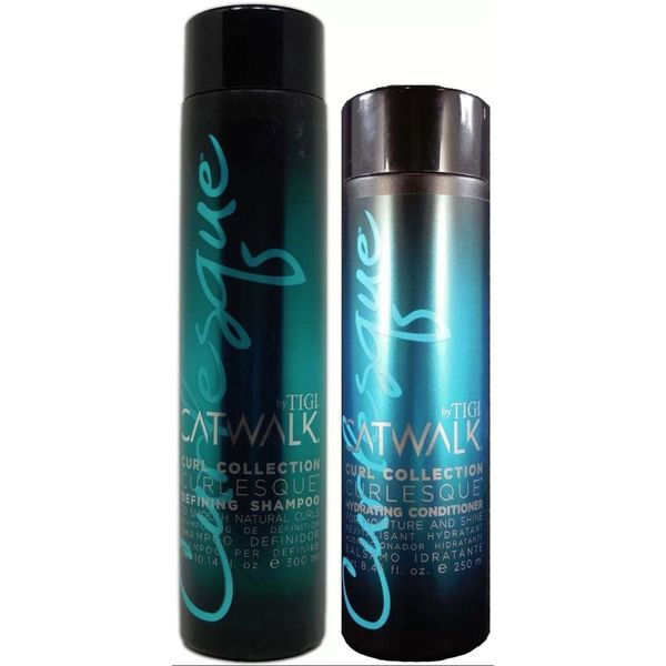 TIGI Catwalk Curlesque Defining Shampoo and Hydrating Conditioner Duo