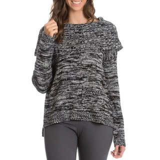 Chelsea and Theodore Women's Marled Cowl Neck Sweater