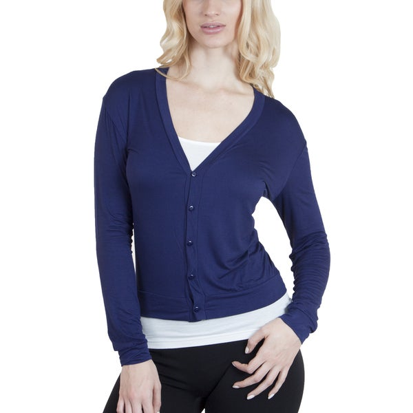 Agiato Apparel Button Front Short Cardigan