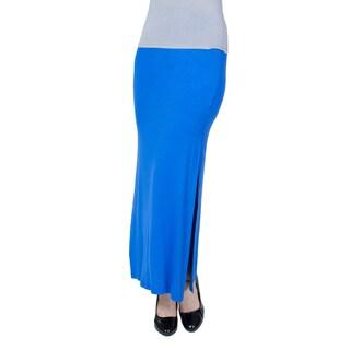 Agiato Apparel Side Slit Maxi Skirt