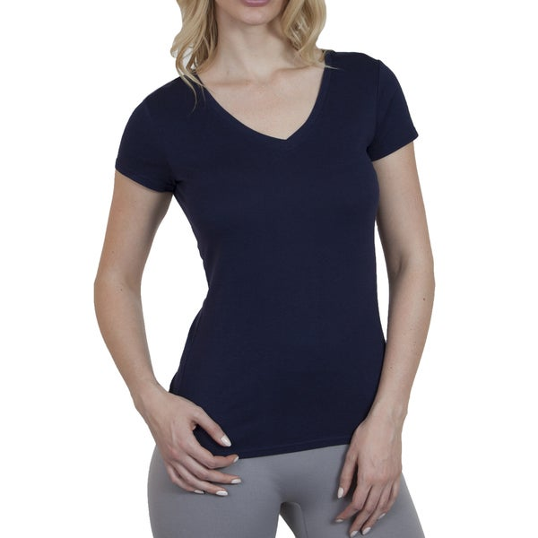 Steven Craig Apparel Women's V-Neck Short Sleeve T-Shirt 16120471