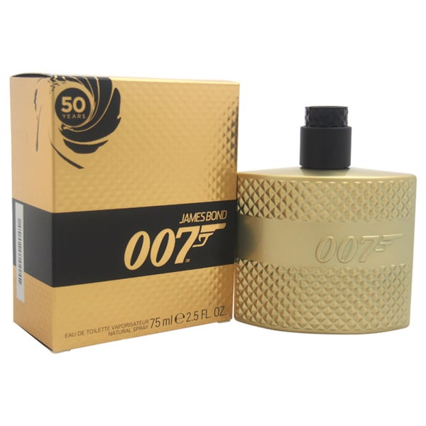James Bond 007 Men's 2.5-ounce Eau de Toilette Spray (Limited Edition Gold )