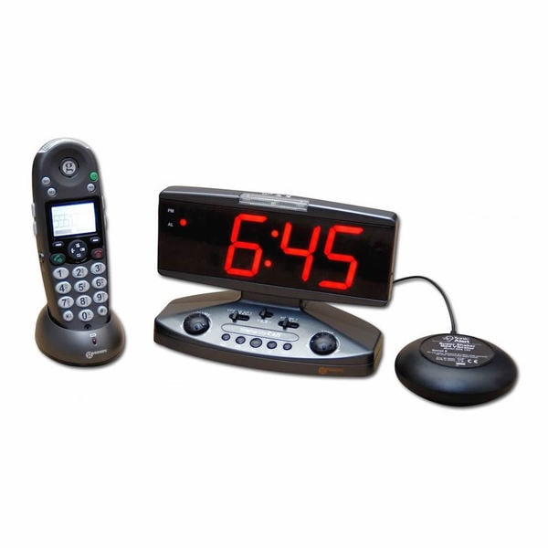 Amplicall500 Sonic Alert Wake Up Call Alarm Clock
