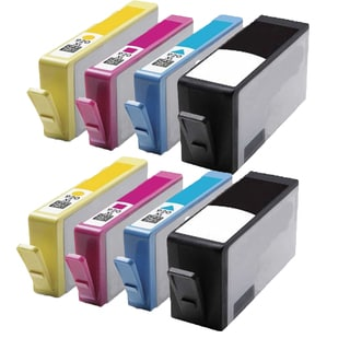 920 XL BK (CC653AN) 920XL C (CD972AN) 920XL M (CD973AN) 920XL Y (CD974AN) Compatible Inkjet Cartridge For 6000 (Pack of 8)