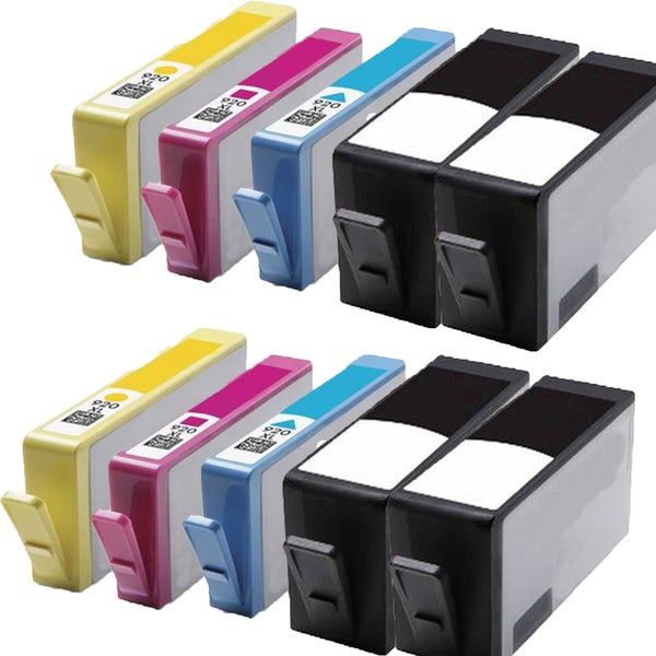 920 XL BK (CC653AN) 920XL C (CD972AN) 920XL M (CD973AN) 920XL Y (CD974AN) Compatible Inkjet Cartridge For 6000 (Pack of 10)
