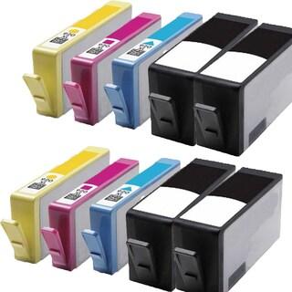 920 XL BK (CC653AN) 920XL C (CD972AN) 920XL M (CD973AN) 920XL Y (CD974AN) Compatible Inkjet Cartridge For 6000 (Pack of 10)