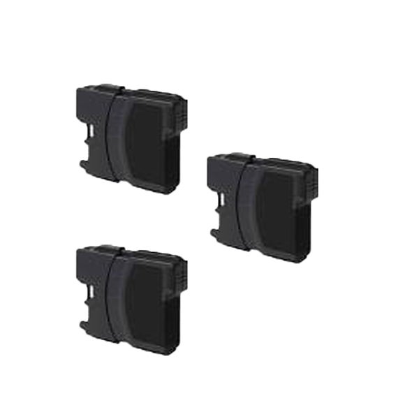 Brother LC61 BK Compatible Inkjet Cartridge For MFCAN-5490CN , MFCAN-5890CN , MFCAN-6490CW , MFCAN-790CW (Pack of 3)