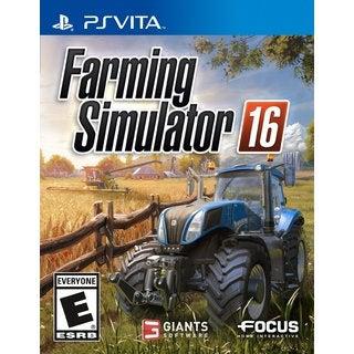 PS Vita - Farming Simulator 16