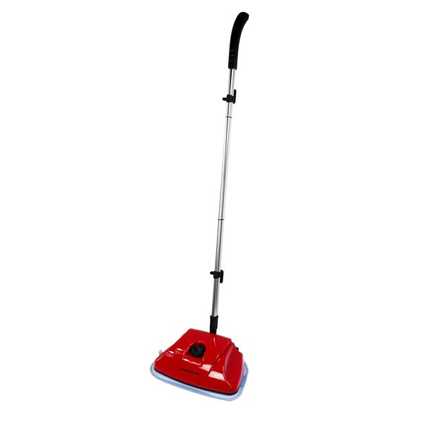 Ovente ST615R Electric Light Weight Steam Mop, Red