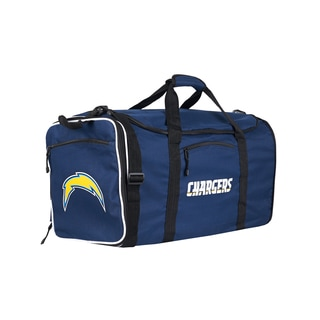 NFL San Diego Chargers 28-inch Blue Duffel Bag