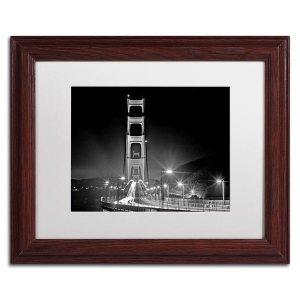 Preston San Francisco White Matte, Black Framed Wall Art   17588684