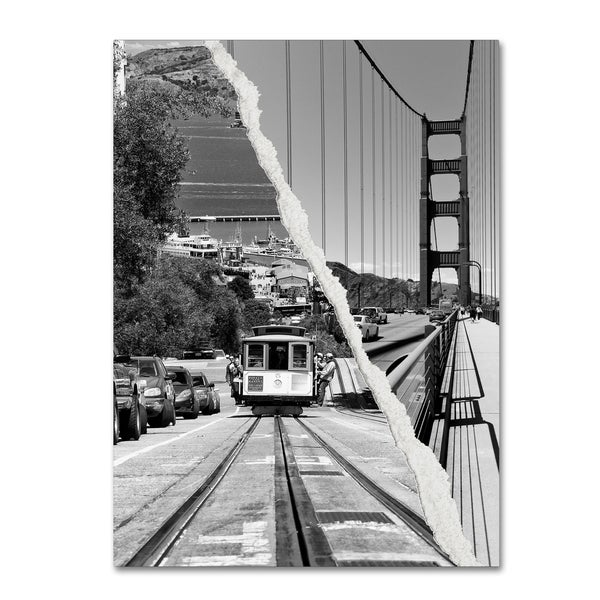 Philippe Hugonnard 'San Francisco Cable Car' Canvas Wall Art