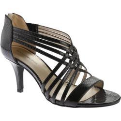 Women's Bandolino Mellona Sandal Black Synthetic