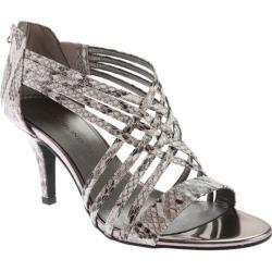 Women's Bandolino Mellona Sandal Black/Off White Synthetic