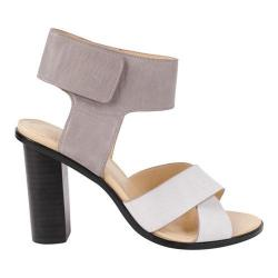 Women's Charles by Charles David Jaunt Sandal Grey/Off White Tumbled Leather